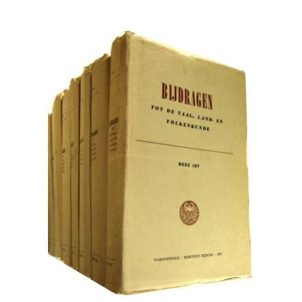 【天牛書店】書籍詳細 - オランダ王立 言語地理民族学 研究所紀要(BKI)  不揃105冊一括  BIJDRAGEN  TOT DE TAAL-,  LAND- EN  VOLKENKUNDE